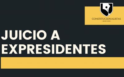 Responsabilidad jurídica de expresidentes